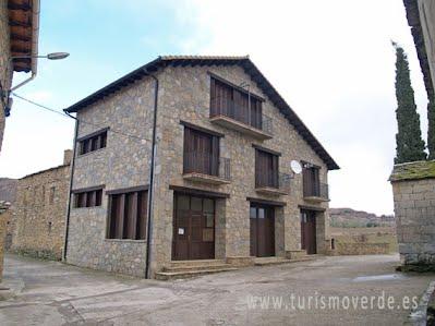 TURISMO VERDE HUESCA. Casa Rural en Cajigar